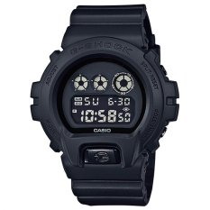 Casio G-SHOCK Pria Hitam Damar Tali Jam DW-6900BB-1