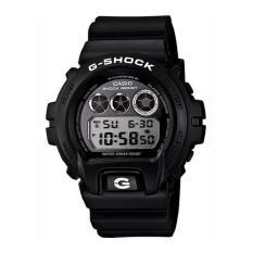 Casio G-SHOCK Pria Hitam Damar Tali Jam DW-6900BW-1