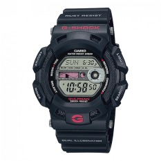 Jam Tangan Casio G-SHOCK G-9100-1 With Tali Warna Hitam Resin, Cocok Dipakai Pria