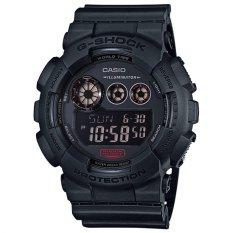 Casio G-Shock Pria Hitam Damar Tali Jam GD-120MB-1