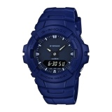 Spesifikasi Casio G Shock Men S Blue Resin Strap Watch G 100Cu 2A Intl Casio G Shock Terbaru