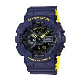 Jual Casio G Shock Men S Blue Resin Strap Watch Ga 110Ln 2A Intl Murah