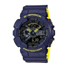 Diskon Besarcasio G Shock Men S Blue Resin Strap Watch Ga 110Ln 2A Intl