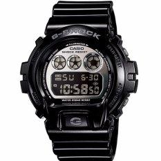 Casio G-SHOCK Men's Watch Resin Band Hitam Band DW-6900NB-1 Hadiah untuk Pria-Intl