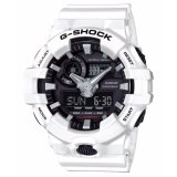 Spesifikasi Casio G Shock Pria Putih Resin Strap Watch Ga 700 7A Intl Murah Berkualitas
