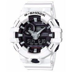 Harga Casio G Shock Pria Putih Resin Strap Watch Ga 700 7A Intl Branded
