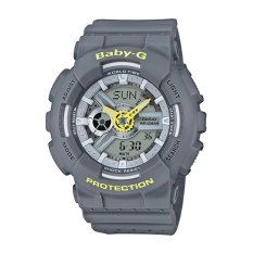 Casio G-Shock Wanita Resin Strap Watch BA-110PP-8A-Intl