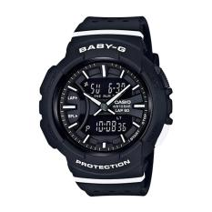 Casio G-SHOCK Wanita Resin Strap Watch BGA-240-1A1-Intl