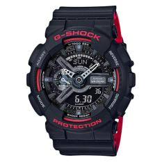Jual Casio Ga 110Hr 1Adr Water Resistance 200M Red Black Resin Band Murah