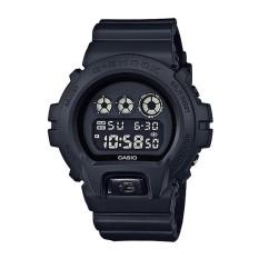 Casio Gshock - Jam Tangan Pria - Hitam-Hitam - Rubber Hitam -  DW-6900BB-1DR