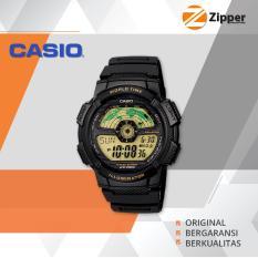 Review Toko Casio Illuminator Jam Tangan Digital Ae 1100W 1Bvdf Youth Series Tali Karet Online