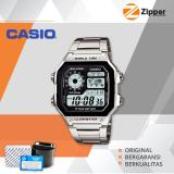 Spesifikasi Casio Illuminator Jam Tangan Digital Ae 1200Whd 1Avdf Youth Series Tali Stainless Steel