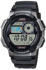 Casio Jam Tangan Pria AE-1000W -1BV - Hitam Silver