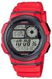 Harga Casio Jam Tangan Pria Ae 1000W 4Avdf Merah Karet Satu Set