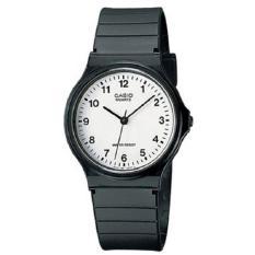 Casio Jam Tangan Pria dan Wanita - Unisex - Strap Karet - Garansi Resmi - MQ24-7BLDF - Hitam