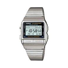 Casio Jam Tangan Pria Databank Telememo DB-380-1DF - Silver