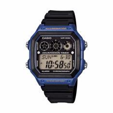 Casio - Jam Tangan Pria - Hitam - Resin - AE-1300WH-2AVDF