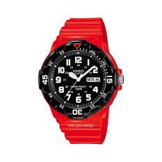 Beli Casio Jam Tangan Pria Red Resin Strap Mrw 200Hc 4Bvdf Murah North Sumatra