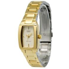 Casio Jam Tangan Wanita Original - Rantai - Stainless Steel - LTP-1165N-9C Gold