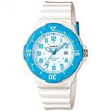 Spesifikasi Casio Jam Tangan Wanita Putih Biru Strap Resin Lrw 200H 2Bvdf Yang Bagus Dan Murah