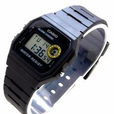 Beli Barang Casio Klasik Digital Jam Tangan Pria Hitam Strap Karet F 94Wa 8D Online
