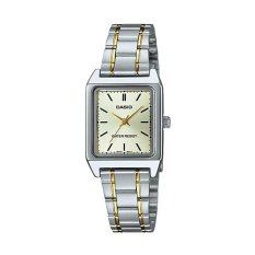 Casio Ladies Analog LTP-V007SG-9EUDF - Jam Tangan Wanita - Stainless Steel - Gold