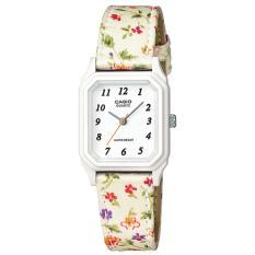 Beli Casio Lq 142Lb 7B Jam Tangan Wanita Putih Cloth Bands Di Banten