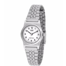 Casio LQ-333A7B jam tangan formil wanita stainless steel.
