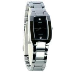 Beli Casio Ltp 1165 7B Jam Tangan Wanita Stainless Steel Silver Hitam Kredit