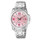 Spesifikasi Casio Ltp 1314D 5A Jam Tangan Wanita Pink Stainless Steel Terbaik