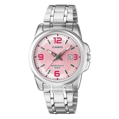 Review Casio Ltp 1314D 5A Jam Tangan Wanita Pink Stainless Steel Casio Di North Sumatra