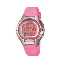 Casio LW-200-4B Jam Tangan Wanita - Pink - Karet