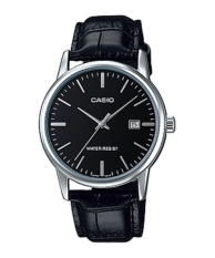Diskon Casio Men Mtp V002L 1A Black