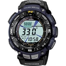 Beli Casio Men S Pag240B 2Cr Pathfinder Protrek Watch Black Blue Murah