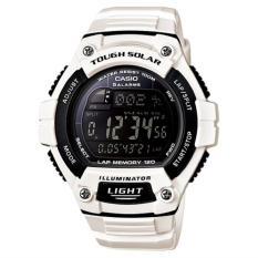Harga Casio Men S Solar Powered Dial White Watch W S220C 7Bv Lengkap