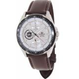 Spesifikasi Casio Edifice Putra Ef 336L 7A Brown Jam Kuarsa Kulit Dengan Silver Dial Allwin Internasional Terbaik