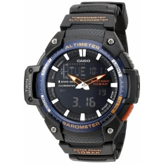 Beli Casio Pria Sgw 450H 2Bcf Twin Sensor Analog Digital Black Watch Murah Korea Selatan