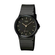 Spesifikasi Casio Mq 24 1E Jam Tangan Unisex Rubber Strap Hitam Yg Baik