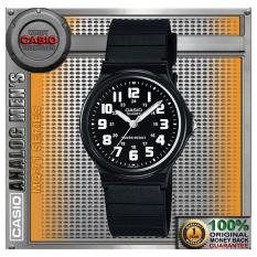 Jual Casio Mq 71 1B Original Black Quartz Classic Analog Rubber Strap Casio Asli