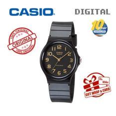 Casio MQ24 MQ-24-7B Asli & Asli Jam Tangan Uniseks Jam Tangan-Karet