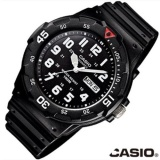 Jual Casio Mrw200H 1B Mens 100 M Hitam Diver Classic Sports Watch Resin Black Sport Intl Ori