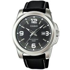 Spesifikasi Casio Mtp 1314L 8A Jam Tangan Pria Strap Leather Hitam Silver Online