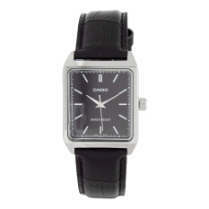Jual Beli Casio Mtp V007L 1Eudf Men S Black Leather Watch Intl Di Indonesia