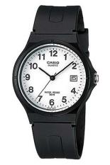 Harga Casio Mw 59 7Bvdf Jam Tangan Unisex Casual Hitam Putih Karet Terbaru
