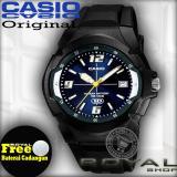 Harga Casio Mw 600F 2Avrs Jam Tangan Pria Hitam Sports Karet Rs Casio Original
