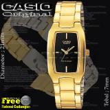 Spek Casio Ltp1165N 9Crs Womens Metal Fashion Gold Tone Casual Analog Watch Casio