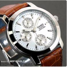 Harga Casio Original Mtp 1192 Casual Watch White Jam Tangan Kasual Watch Online