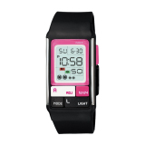 Jual Casio Poptone Ldf 52 1A Digital Women S Watch Black Pink Grosir