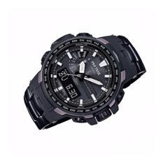 Beli Casio Pro Trek Prw 6100Yt 1 Digital Compass Watch Black Intl Cicil