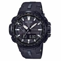 Harga Casio Protrek Prw 6100Y 1B Scr*w Kunci Mahkota Watch Untuk Pria Intl Baru Murah